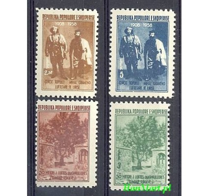 Albania 1958 Mi 564-567 Czyste **