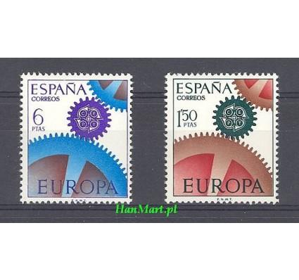 Znaczek Hiszpania 1967 Mi 1682-1683 Czyste **