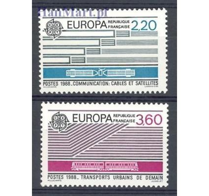 Znaczek Francja 1988 Mi 2667-2668 Czyste **