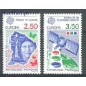 Francja 1991 Mi 2834-2835 Czyste **