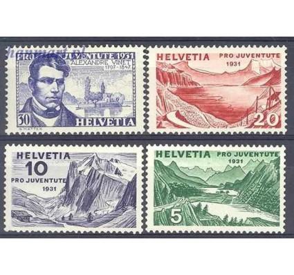 Znaczek Szwajcaria 1931 Mi 246-249 Z podlepką *