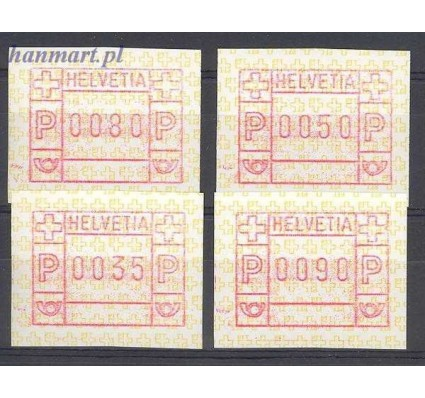 Szwajcaria 1990 Mi aut 4 Czyste **