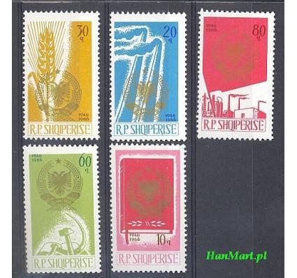 Albania 1966 Mi 1023-1027 Czyste **