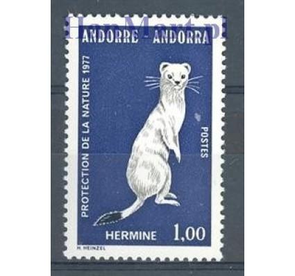 Znaczek Andora Francuska 1977 Mi 281 Czyste **