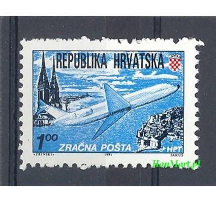 Znaczek Chorwacja 1991 Mi 179A Czyste **