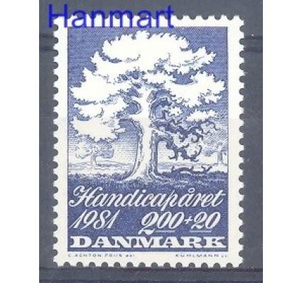 Znaczek Dania 1981 Mi 739 Czyste **