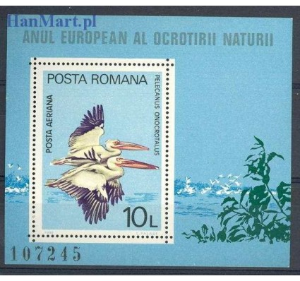 Znaczek Rumunia 1980 Mi bl 167 Czyste **