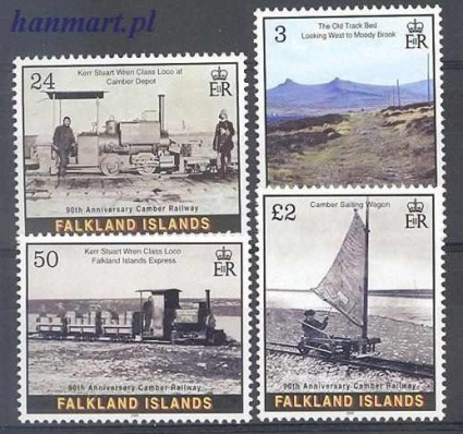 Znaczek Falklandy 2005 Mi 926-931 Czyste **