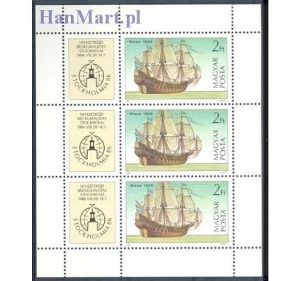 Znaczek Węgry 1986 Mi ark 3834 Czyste **