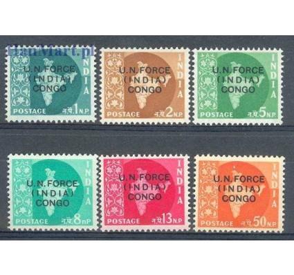 Znaczek Indie 1962 Mi 1-6 Czyste **