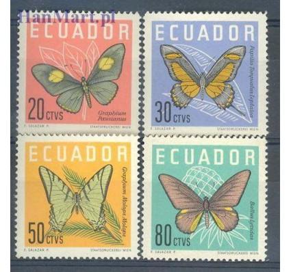 Znaczek Ekwador 1961 Mi 1070-1073 Czyste **