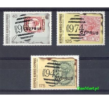 Cypr  1980 Mi 517-519 Czyste **