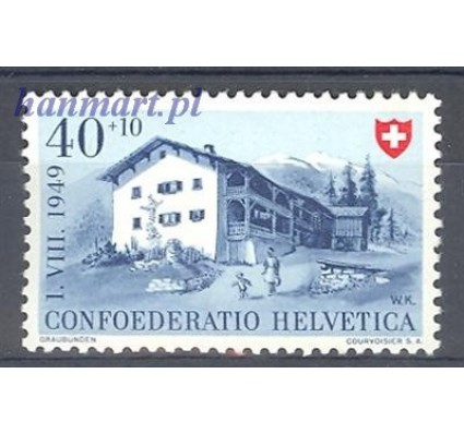 Znaczek Szwajcaria 1949 Mi 528 Czyste **