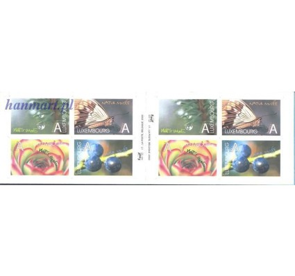Znaczek Luksemburg 2002 Mi mh 1585-1588 Czyste **