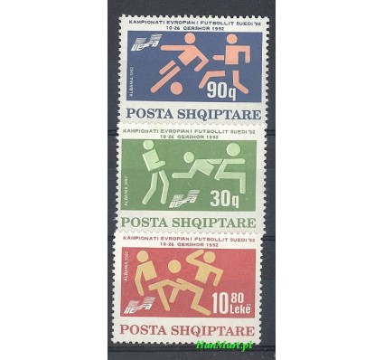 Albania 1992 Mi 2499-2501 Czyste **