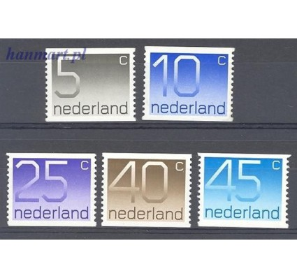 Holandia 1976 Mi 1065-1069c Czyste **