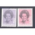 Holandia 1982 Mi 1200c+1202c Czyste **