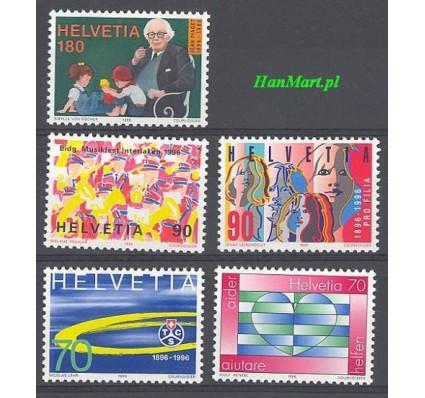 Znaczek Szwajcaria 1996 Mi 1571-1575 Czyste **