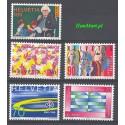 Szwajcaria 1996 Mi 1571-1575 Czyste **