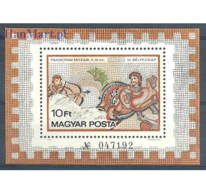 Węgry 1978 Mi bl 134 Czyste **