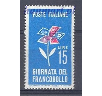 Włochy 1963 Mi 1155 Czyste **