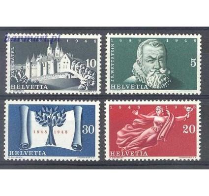 Znaczek Szwajcaria 1948 Mi 496-499 Czyste **