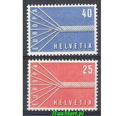 Znaczek Szwajcaria 1957 Mi 646-647 Czyste **