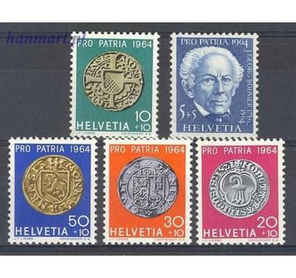 Szwajcaria 1964 Mi 795-799 Czyste **