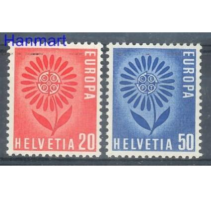 Znaczek Szwajcaria 1964 Mi 800-801 Czyste **