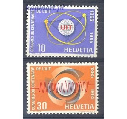 Szwajcaria 1965 Mi 823-824 Czyste **