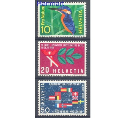 Znaczek Szwajcaria 1966 Mi 833-835 Czyste **