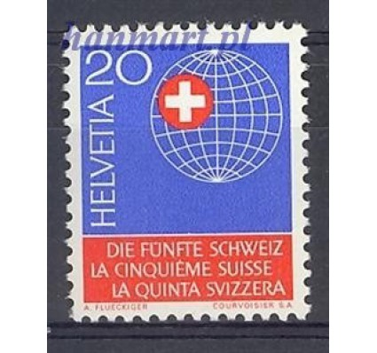 Znaczek Szwajcaria 1966 Mi 841 Czyste **