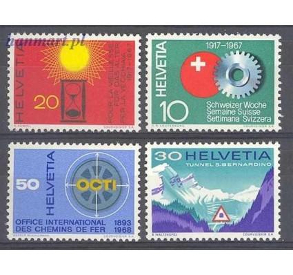 Szwajcaria 1967 Mi 858-861 Czyste **