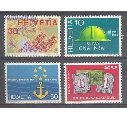 Szwajcaria 1968 Mi 887-890 Czyste **