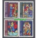 Szwajcaria 1969 Mi 902-905 Czyste **