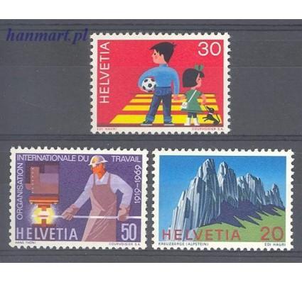 Szwajcaria 1969 Mi 911-913 Czyste **