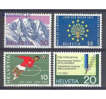 Znaczek Szwajcaria 1970 Mi 929-932 Czyste **