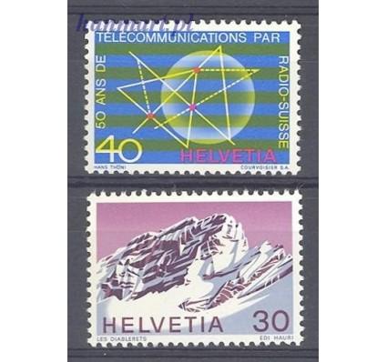 Szwajcaria 1971 Mi 953-954 Czyste **