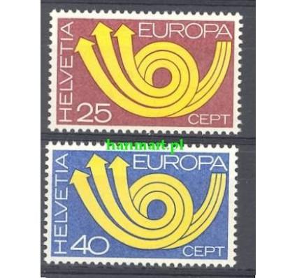 Szwajcaria 1973 Mi 994-995 Czyste **