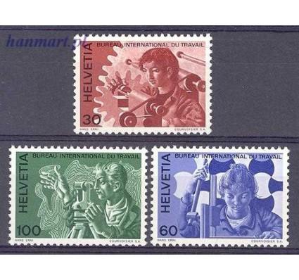 Szwajcaria 1975 Mi ilo 105-107 Czyste **