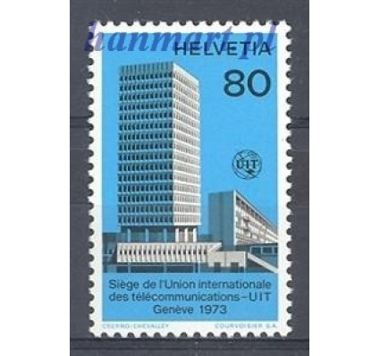 Szwajcaria 1973 Mi itu 10 Czyste **