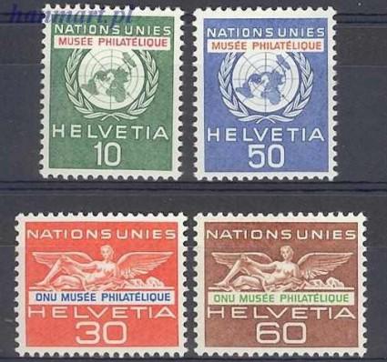 Szwajcaria 1962 Mi uno 34-37 Czyste **
