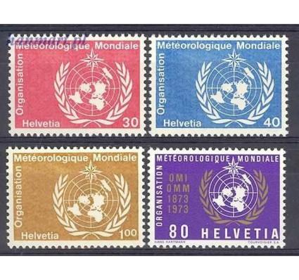 Szwajcaria 1973 Mi wmo 10-13 Czyste **