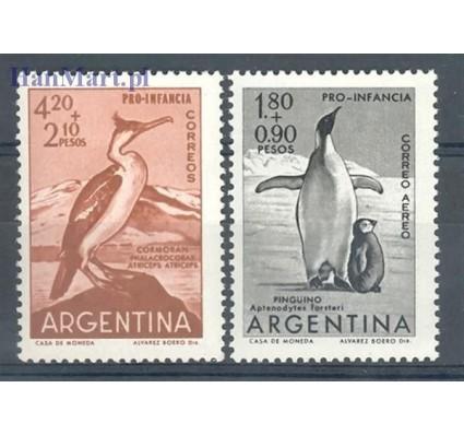 Znaczek Argentyna 1961 Mi 760-761 Czyste **