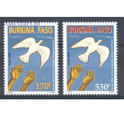 Burkina Faso 2004 Mi 1869-1870 Czyste **