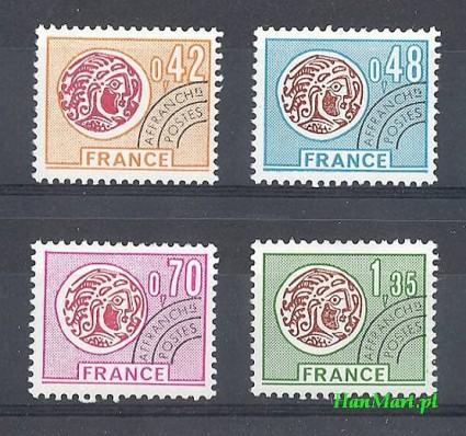 Francja 1975 Mi 1905-1908 Czyste **