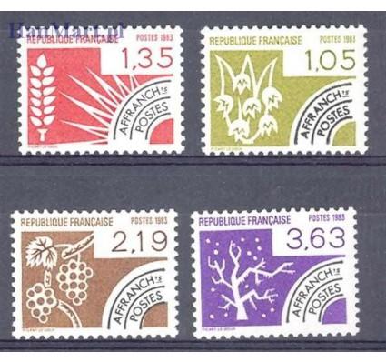 Francja 1983 Mi 2376-2379 Czyste **