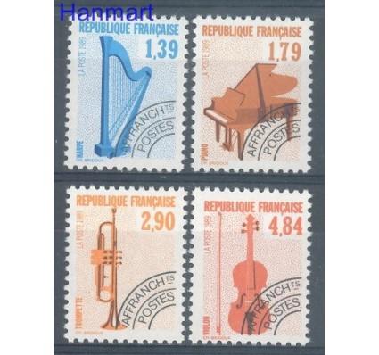Francja 1989 Mi 2739-2742C Czyste **