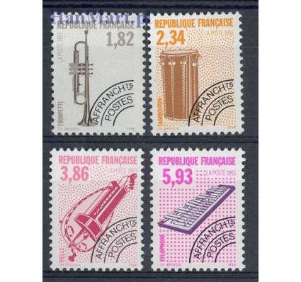 Francja 1993 Mi 2968-2971 Czyste **