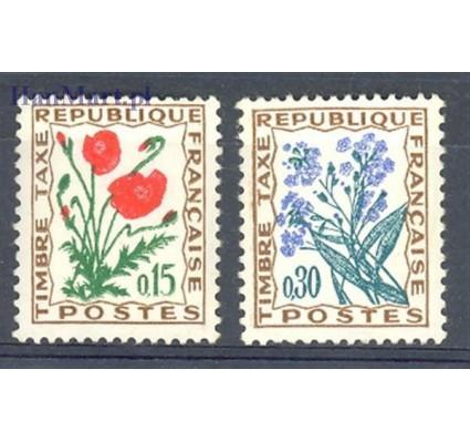 Francja 1960 Mi por 98-99 Czyste **